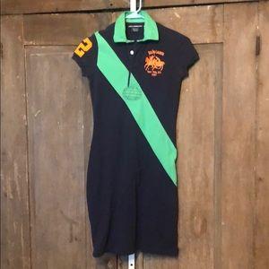 Ralph Lauren Sport   100% cotton polo shirt dress